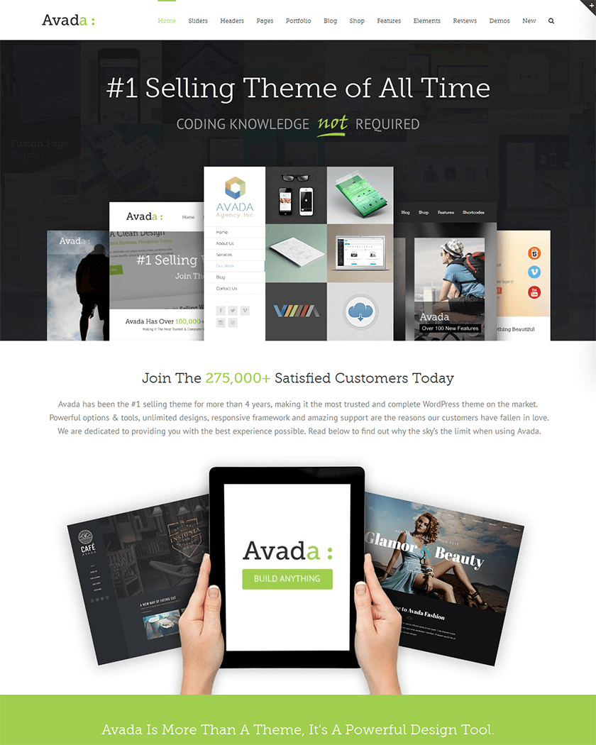 30+ Best WordPress Business Themes