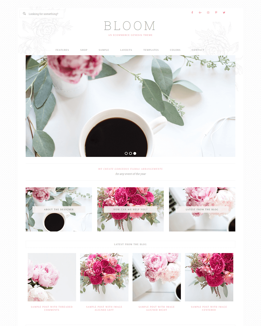 Bloom  Theme