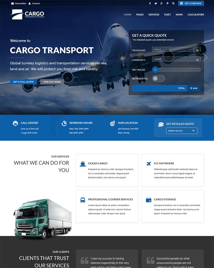 Cargo Theme