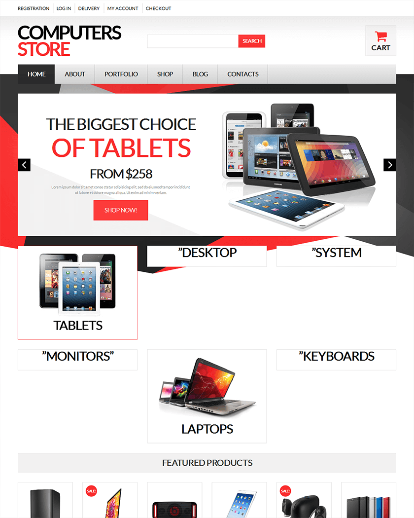 Computer Store Theme