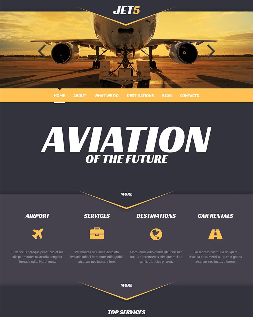 Private Airline Theme