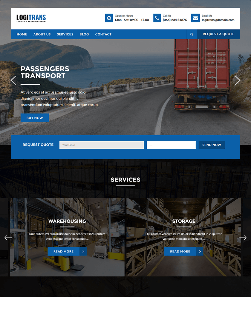 Logistic/ LogiTrans  Theme