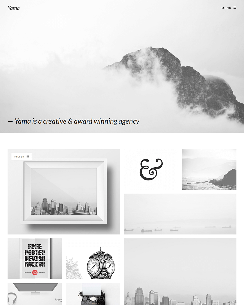 20+ Best Typography WordPress Themes
