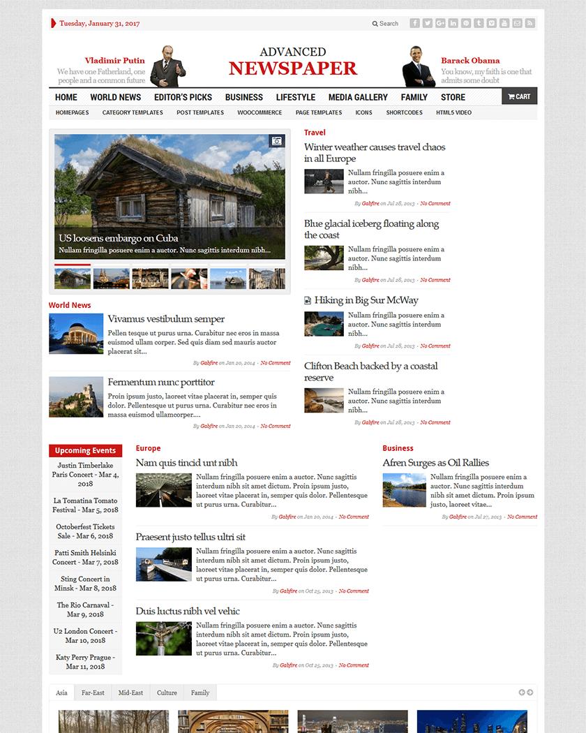 20 Best Wordpress News Themes Of 2017 Goodwpthemes