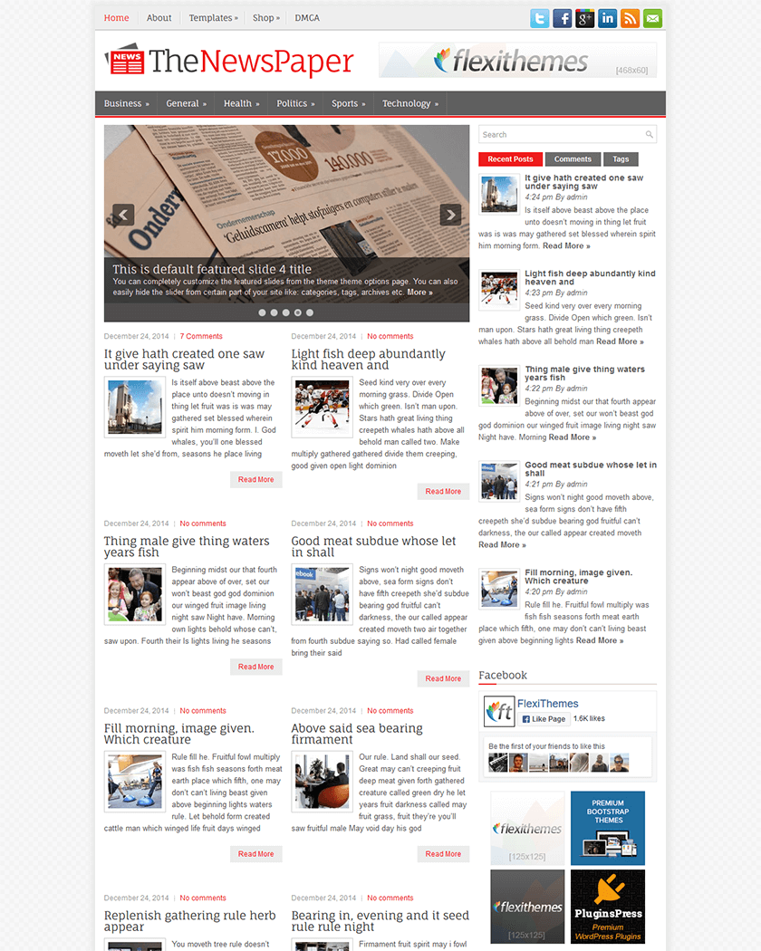 TheNewsPaper Theme