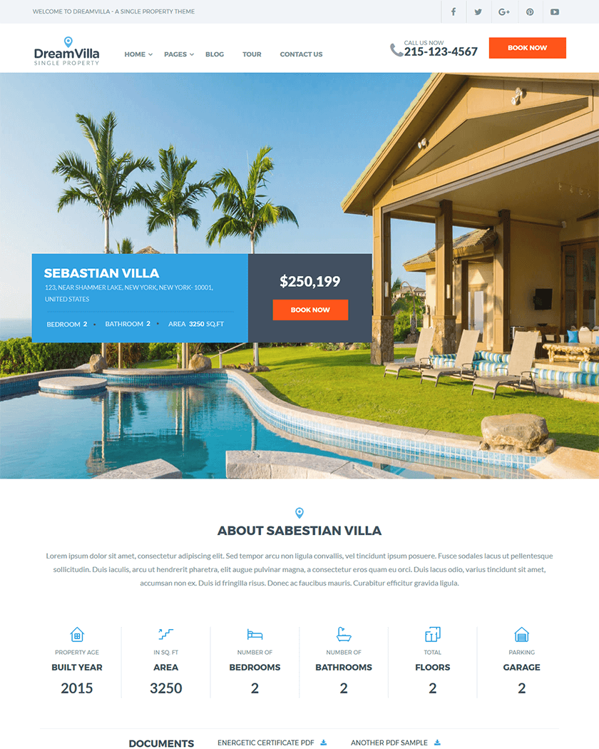 DreamVilla Theme