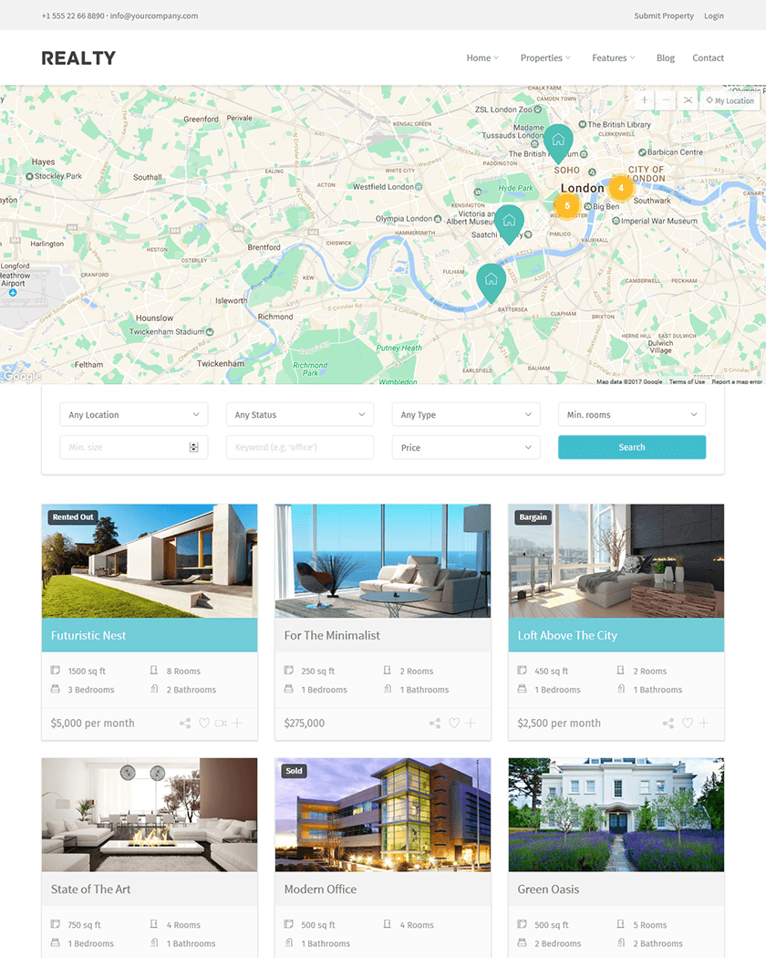 20+ Best WordPress Real Estate Themes