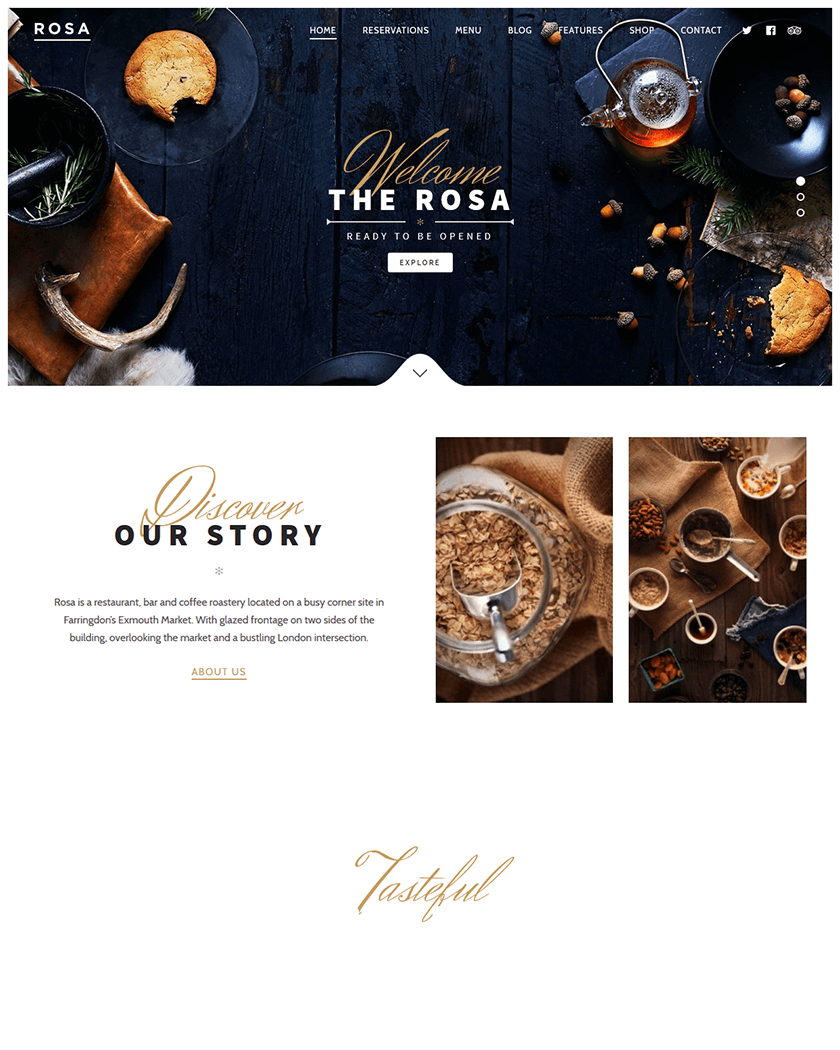20+ Best WordPress Restaurant Themes