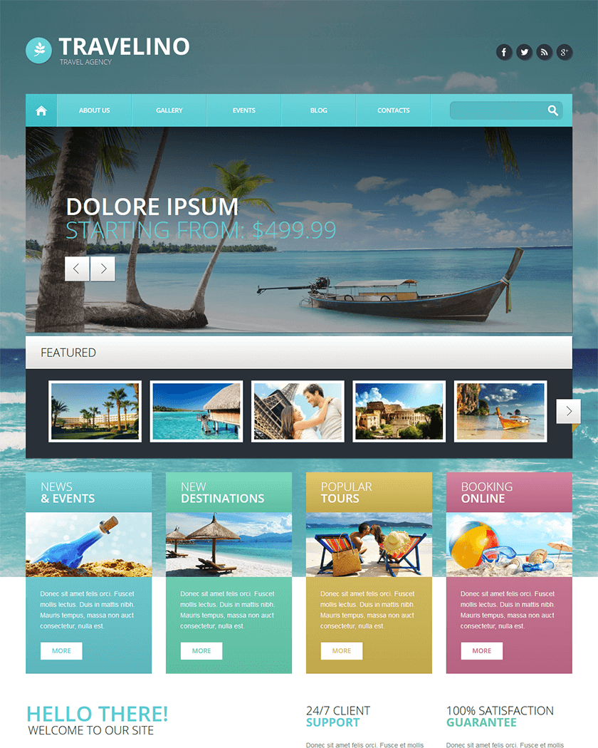 Travel Agency Theme